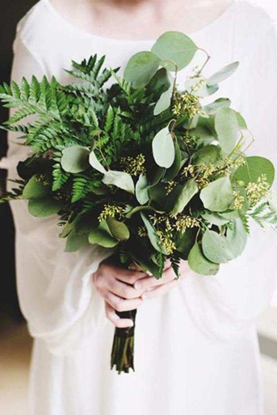 25 Winter Wedding Florals/Greenery Arrangements