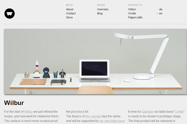 38 minimalist layouts utilizing excellent whitespace web for Minimalist design inspiration