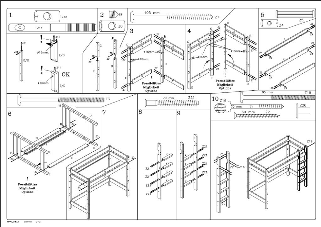 Ikea Flat Pack Instructions Instruction Manuals Use A Style Similar To Sequential