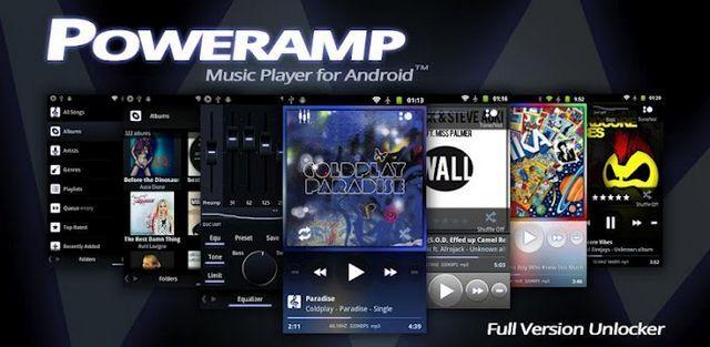 Poweramp Full Version Unlocker apk v2 0 9 Android Premium