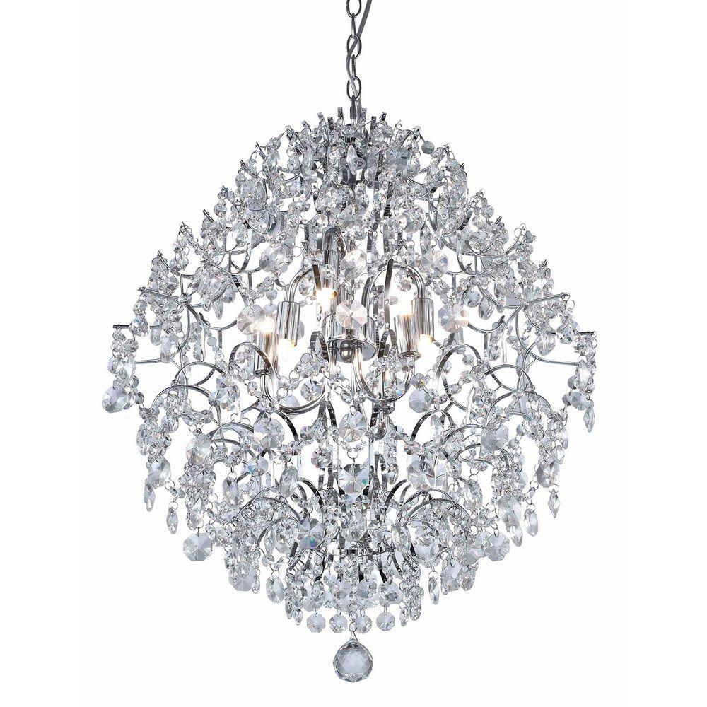 Ashford classics modern crystal chandelier pendant in chrome 2232 ashford classics modern crystal chandelier pendant in chrome 2232 arubaitofo Choice Image