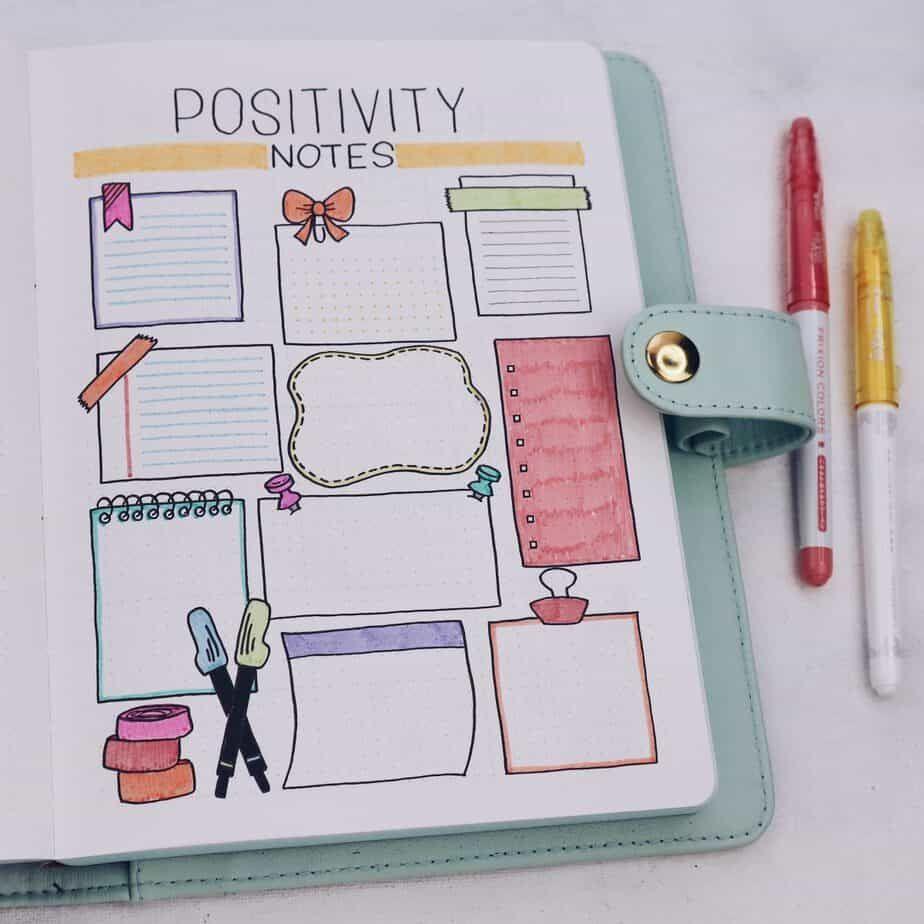 Back to School Themed Bullet Journal Setup | Masha Plans