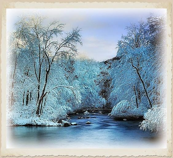 Decoupage Agnes76:  Winter landscapes transfers Many beautiful transfers on this site