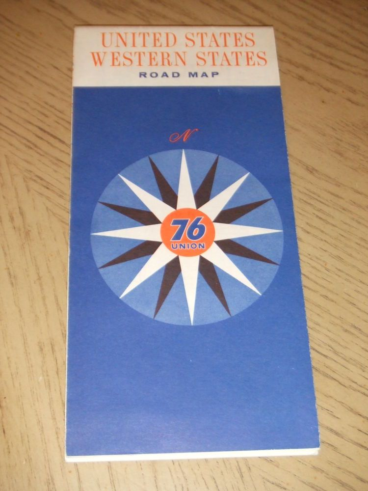 PaincorpsRareFinds VINTAGE 1963 Union 76 Oil Gas Western ...