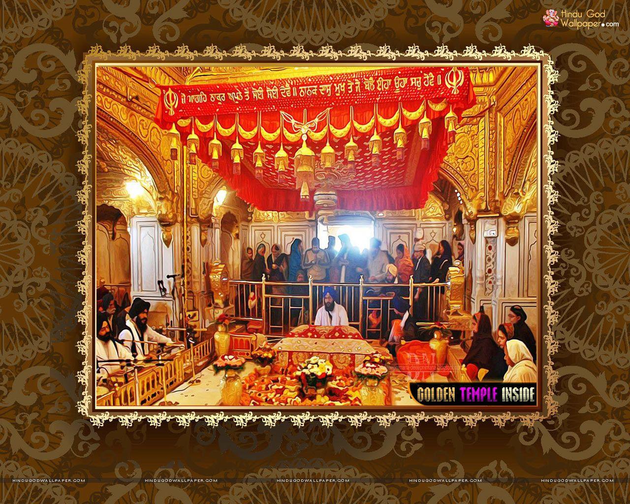 golden temple inside hd wallpaper free download | golden temple