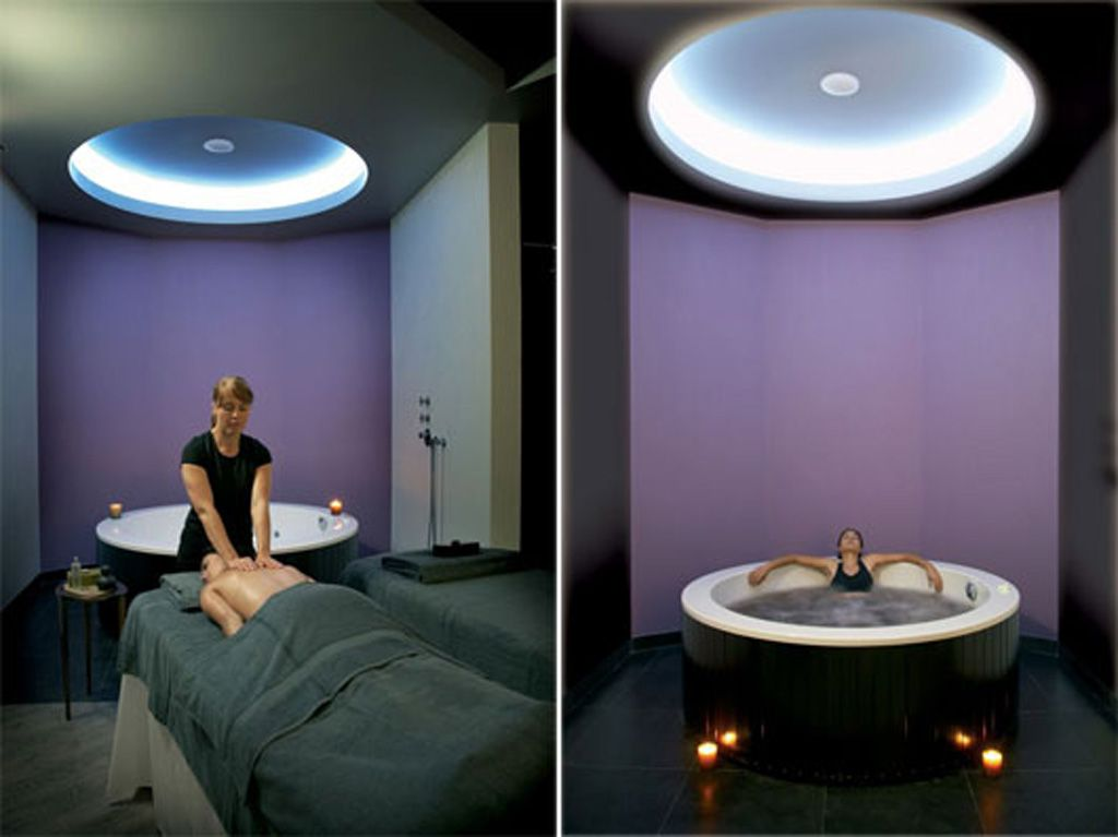 Modern private spa design ✈spa retreat spa design