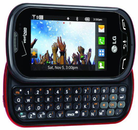 Verizon LG Extravert No Contract QWERTY 2MP Camera Touchscreen Cell Phone…