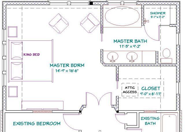 Layout Master Bedroom Ensuite Floor Plans Trendecors