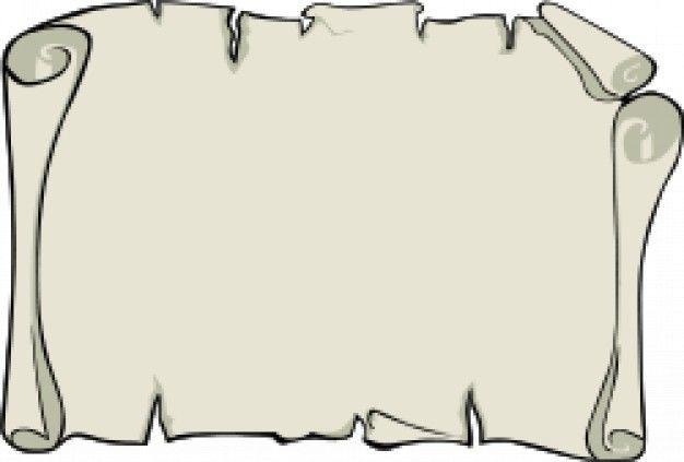 Resultado De Imagen Para Como Dibujar Un Pergamino