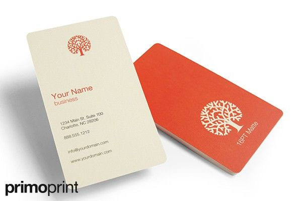 16pt matte business card with rounded corners business card 16pt matte business card with rounded corners business card designed and printed by primoprint reheart Images