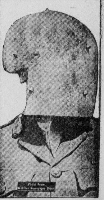 WWI; German sniper mask | WW1-Western Front