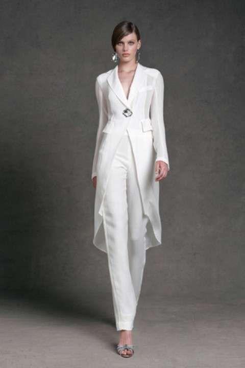2d82d1dec5 Idee abiti da cerimonia con pantaloni 2013 - Completo elegante ...