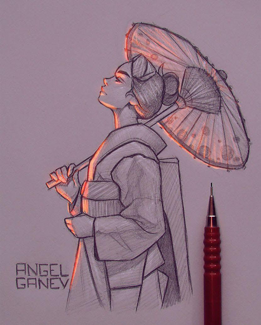 Pin By Tania Espada On Ref Arte Cool Art Drawings Girl Drawing Sketches Art Drawings Sketches