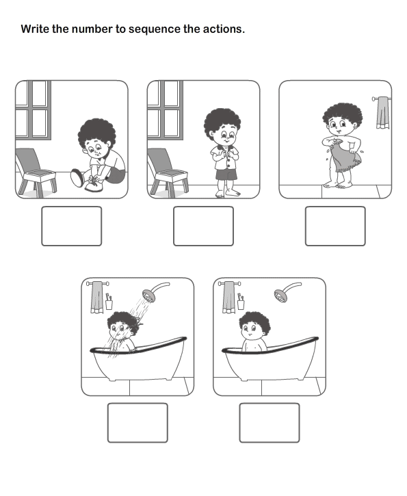 Picture Sequence Learning, Arrange Series of Pictures, Picture ...