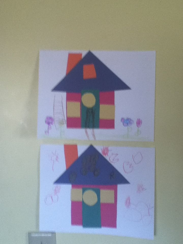 The House That Jack Built craft. Week 2. Book crafts