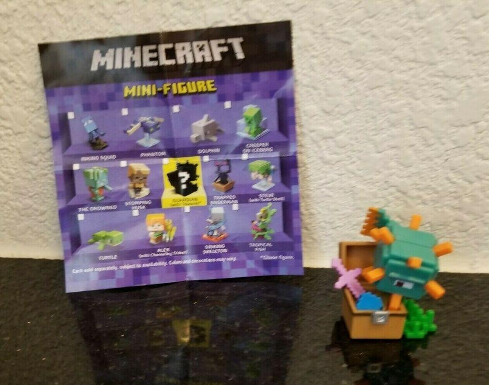 """Minecraft Mini-Figures 1/"""" Killer Rabbit Ice Series Figure Mojang"""