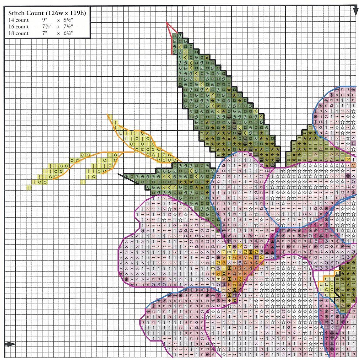 Punto croce schemi fiori cerca con google ricamo punto for Ricamo schemi gratis