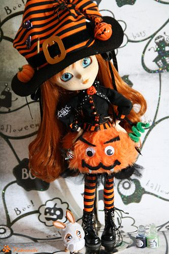 Pullip Anne Shirley - Pumpkin 1... Halloween is coming