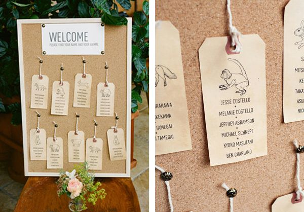 Wedding Reception Stationery Ideas Seating Plans