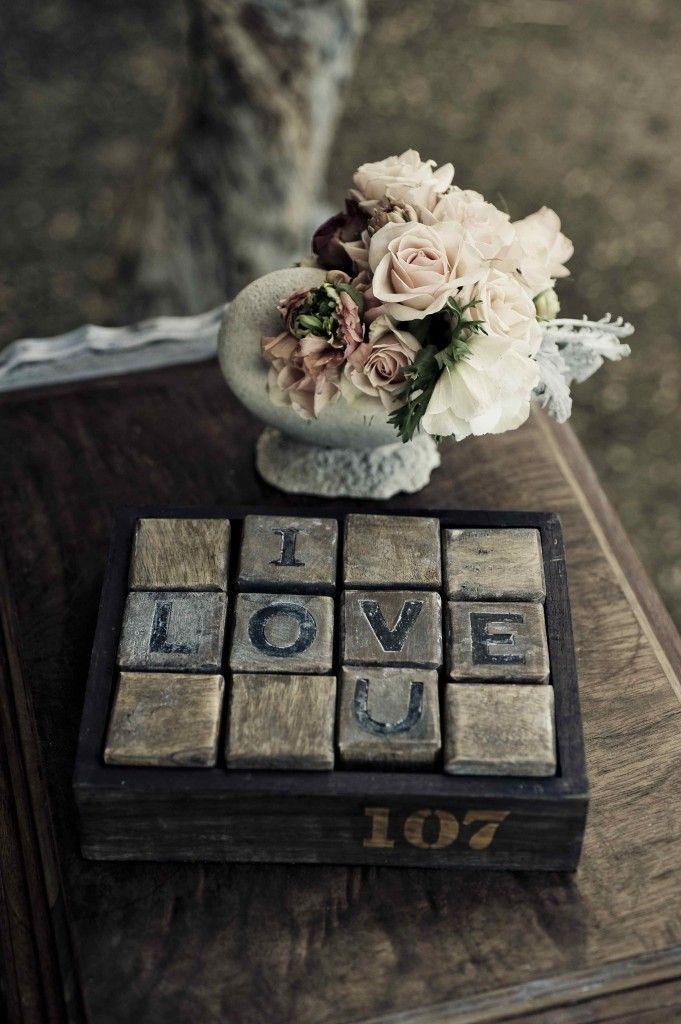 rustic love note