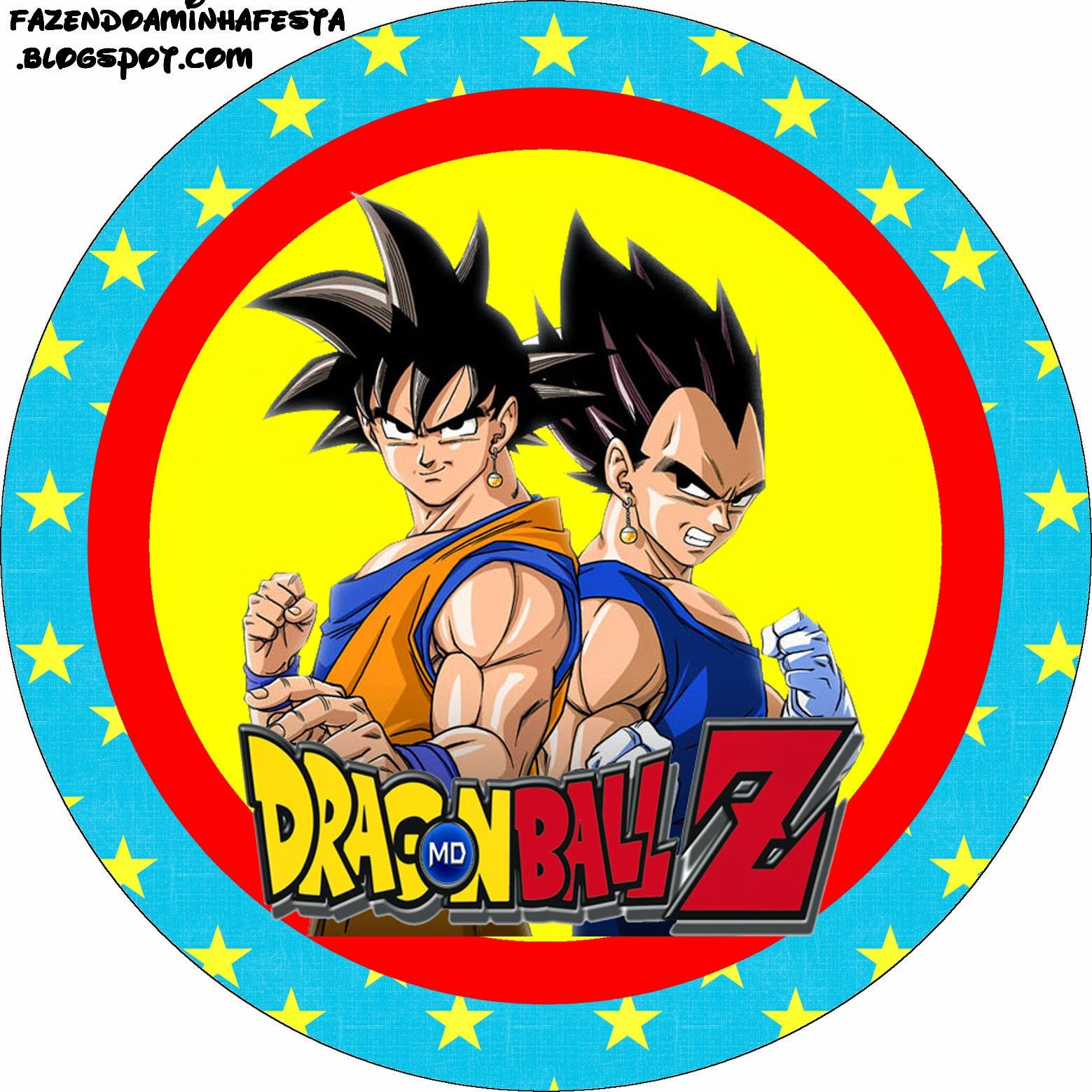 Dragon Ball Z Cake Decorating Kit : Dragon Ball Z: Free Printable Candy Bar Labels. DBZ ...