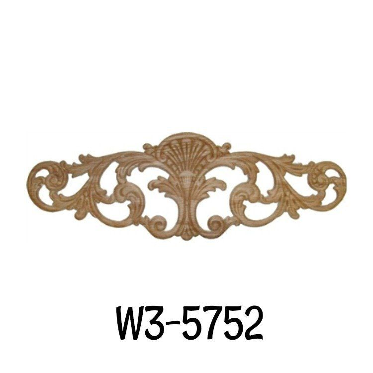 Hand Carved Wood Ornament Decorative Ornament Oak