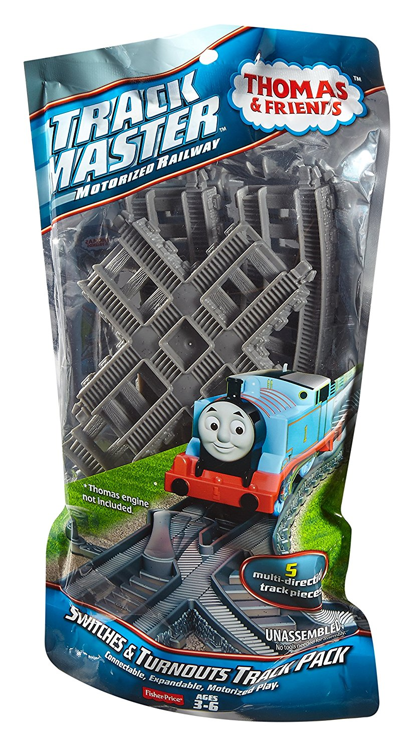 Fisher Price Thomas The Train Track Master Switches Turnouts Track Pack Thomas The Train Tracks Fisher Price Thomas And Friends