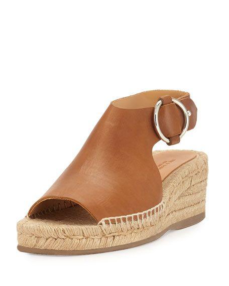abd52c0fcb77 Calla Leather Wedge Espadrille Sandal