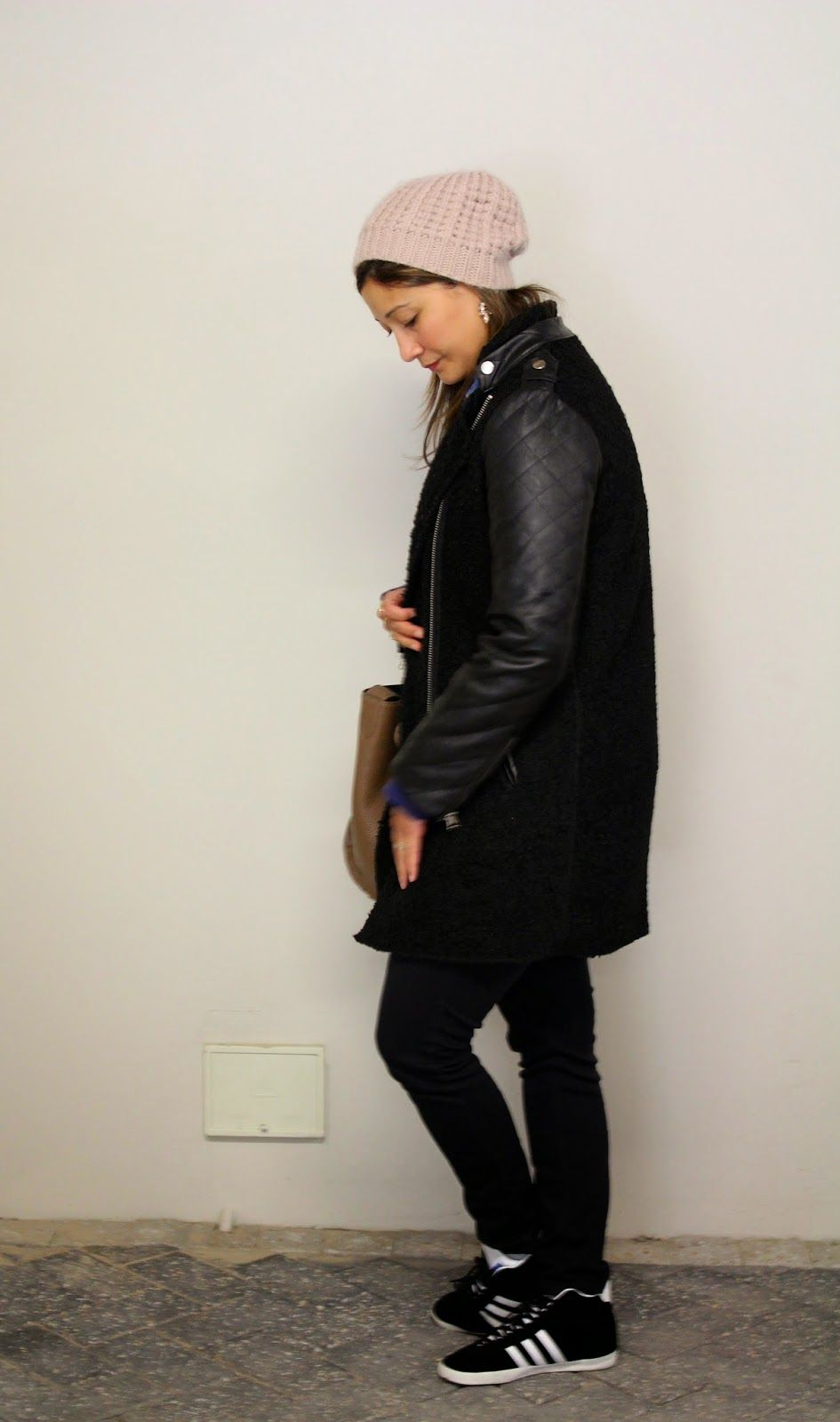 RuBe's Closet: Winter coat, all black
