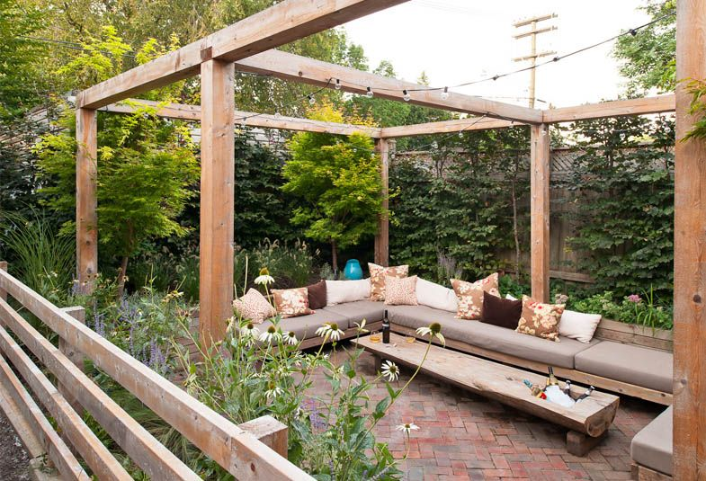 Seeking Sanctuary Backyard Outdoor Spaces Outdoor Decor