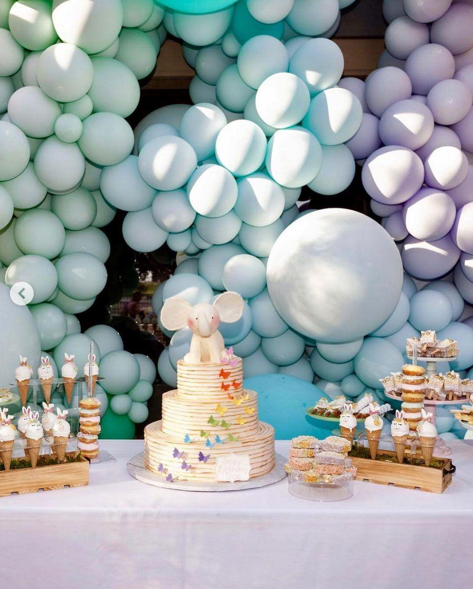 Inside True Thompson's Birthday Balloon Cost in 2020