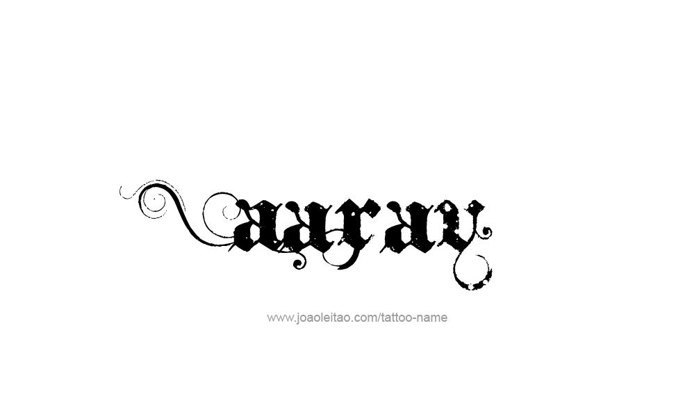 Aarav Name Tattoo Designs Name Tattoos Name Tattoo Tattoo Designs