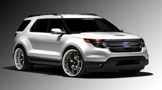 Ford Has Announced That The New Sports Model Corssover Explorer Sport Will Be Available At A Custom Cars2013
