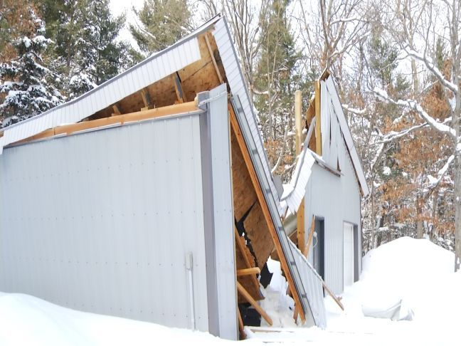 and michigan barn workshop pole pin porch garage barns garages with