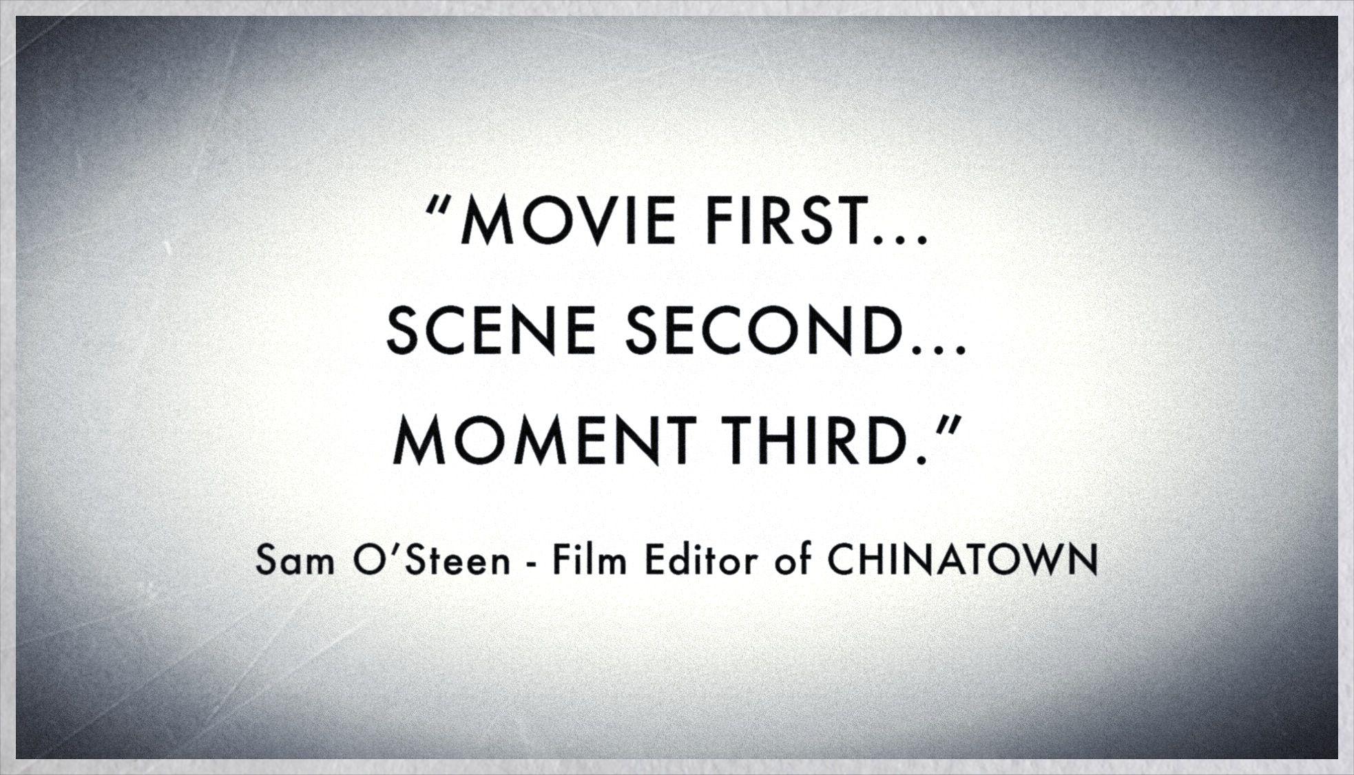 Sam O Steen On Film Editing Vashivisual Blog Filmmaking Quote Dissertation
