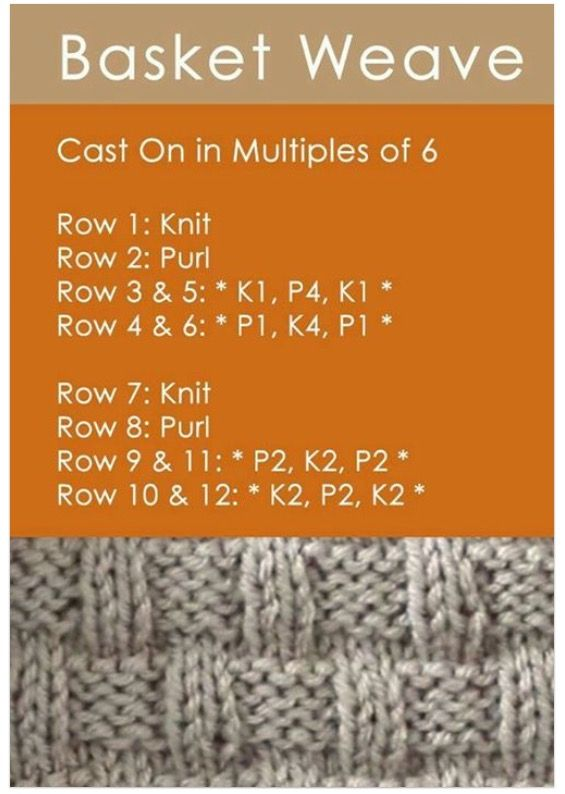 A different pretty basket weave pattern than I do   Kids Stuff ...