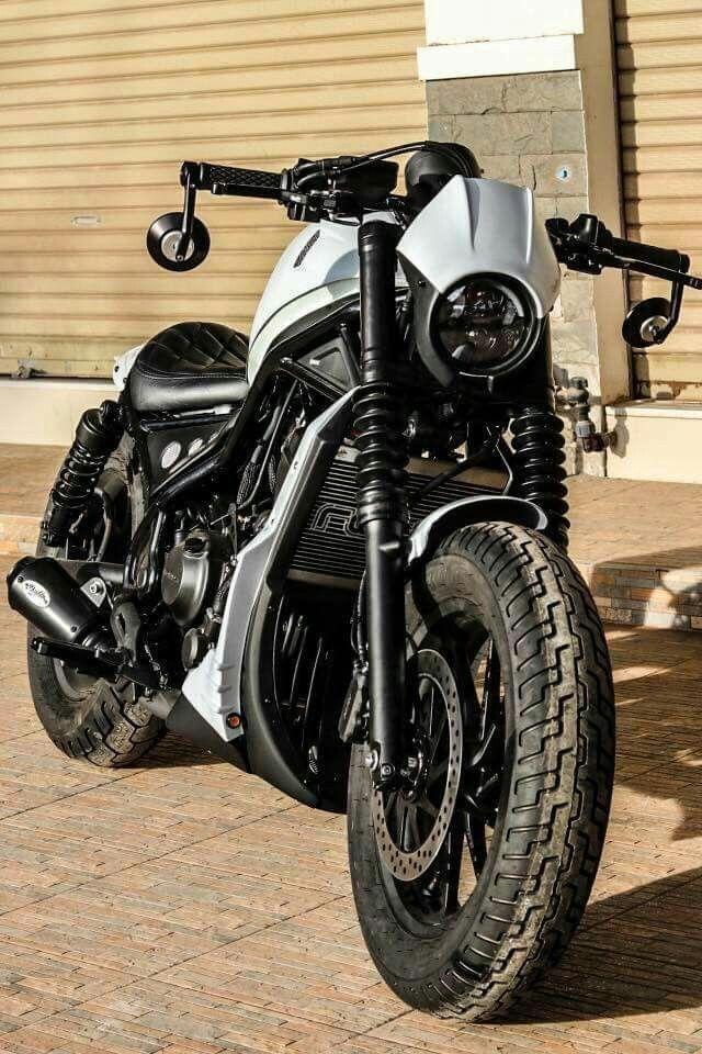 HONDA REBEL500 | Motos and Wips | Honda motorcycles, Honda