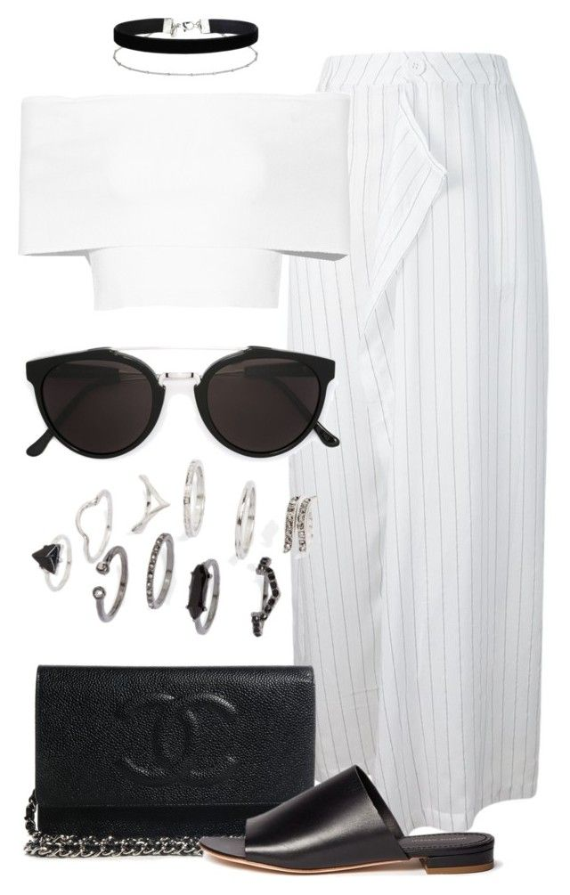"""""""Untitled #2387"""" by annielizjung ❤ liked on Polyvore featuring Uma   Raquel Davidowicz, Rosetta Getty, Miss Selfridge, Mansur Gavriel, Topshop and RetroSuperFuture"""