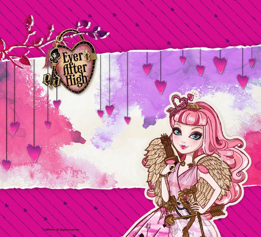 Fond d'écran de st Valentin avec C.A. Cupid