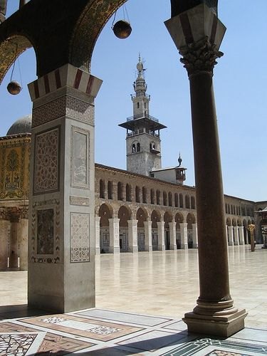 Umayyad Mosque (Umawi)   ✈Travel,Places & the Many Corners