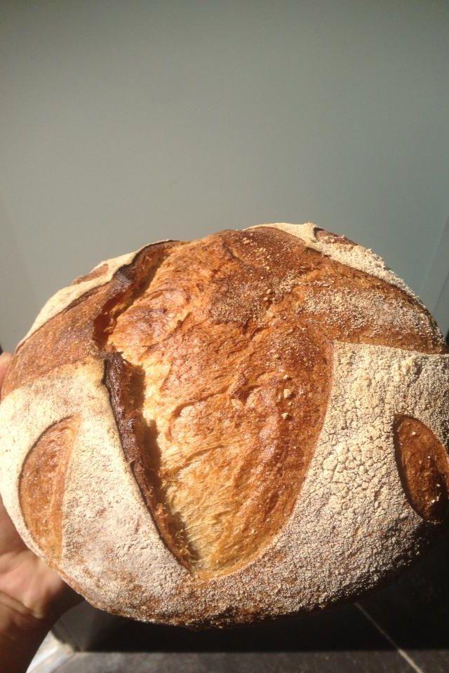 Pan de Kamut con 18 horas de fermentacion