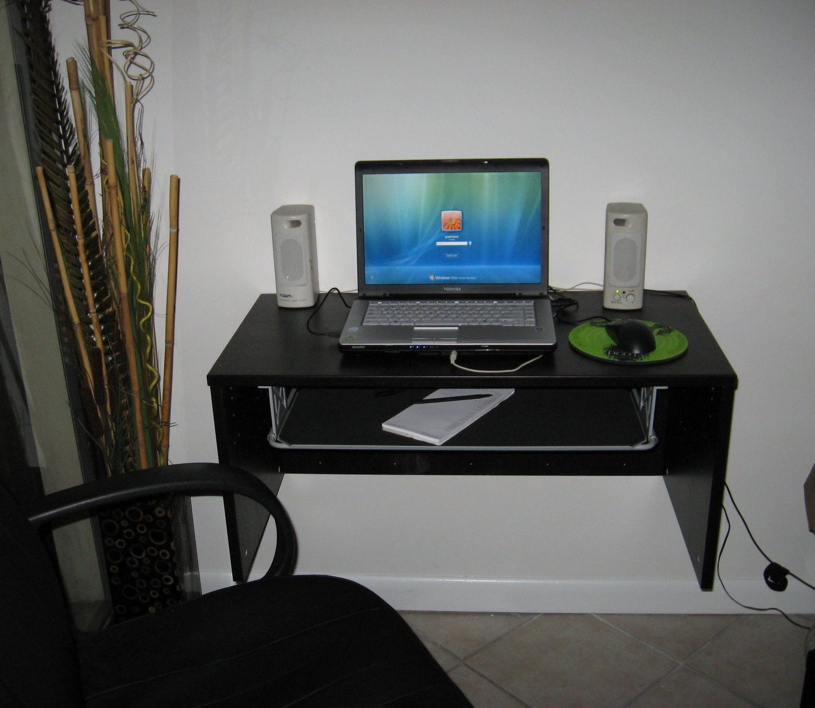 Amazing Picture Of IKEA Floating Desk Selections With Lack Shelf