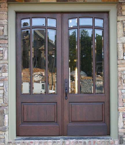 Wood And Iron Front Doors: Modern Design While Maintaining That Old Charm!! Tons Of