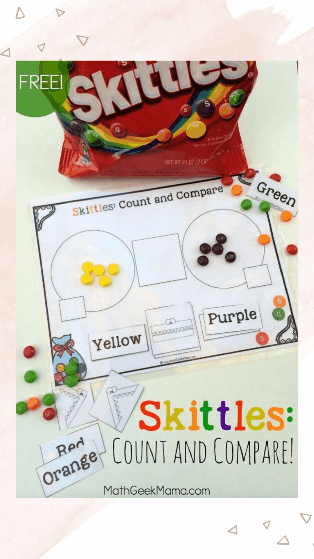 Skittles Count Amp Compare In