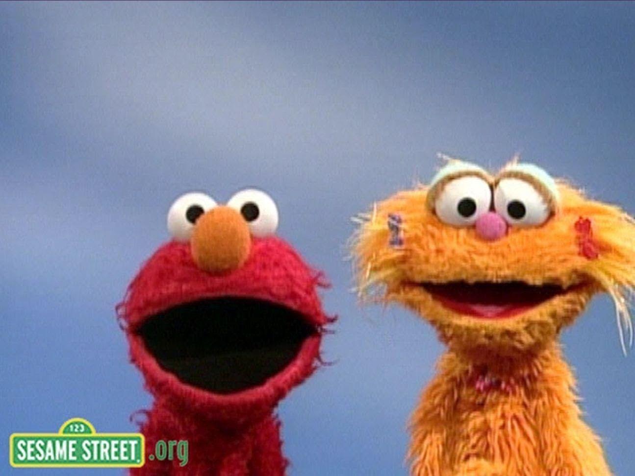 Sesame Street Elmo And Zoe S Opposites