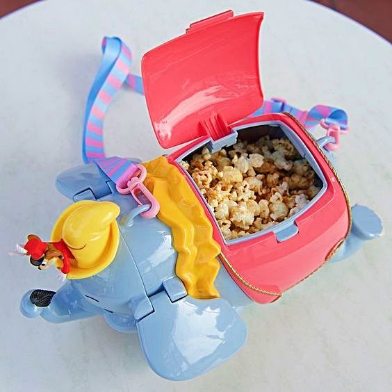 Disneyland Food DUMBO Popcorn Bucket #disneylandfood Disneyland Food DUMBO Popcorn Bucket #disneylandfood