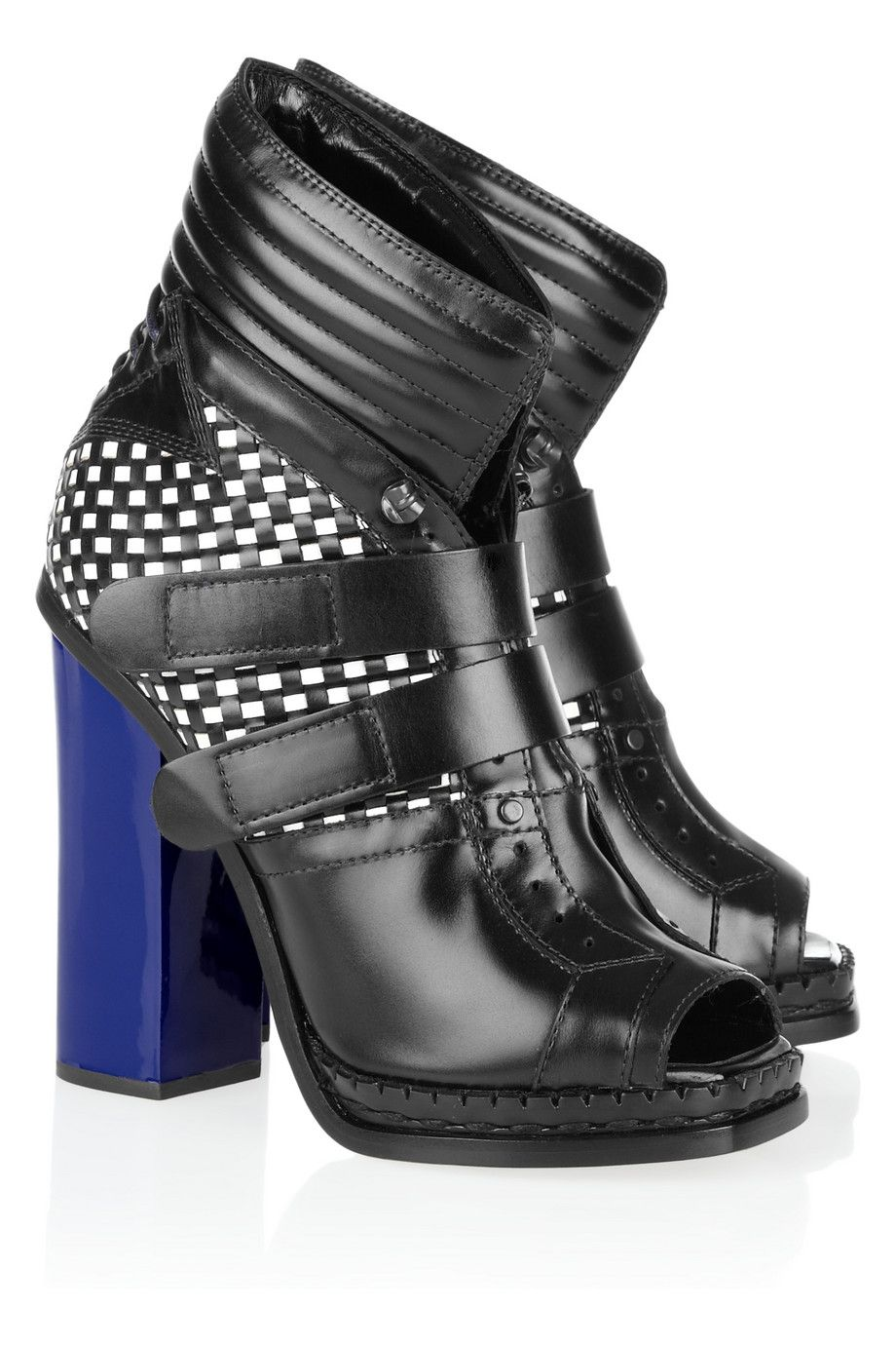 Proenza Schouler Designer Shoes, Patent Leather Boots