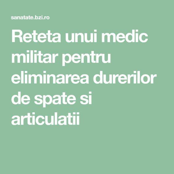 Rețeta unui medic militar pentru eliminarea durerilor de spate și articulații - bekkolektiv.com