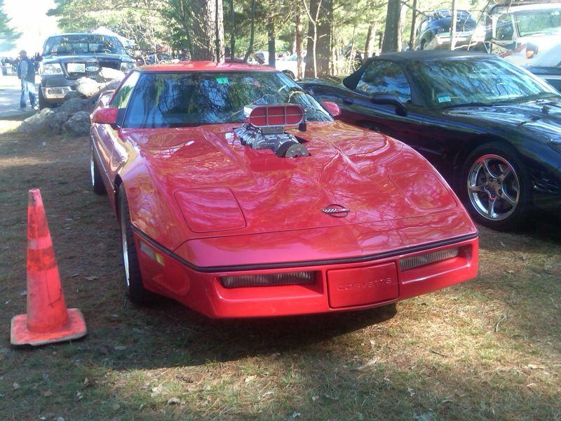 C4 Corvette C4 Corvette Supercharger Red Corvette Supercharger Corvette