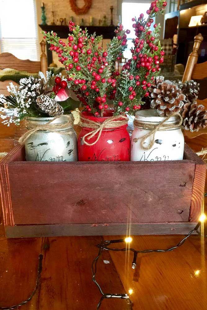 48 Simple Holiday Centerpiece Ideas Christmas Pinterest